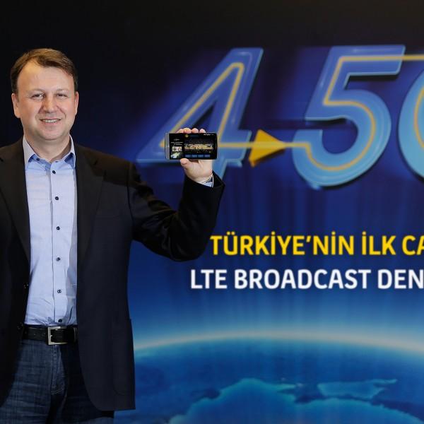 Turkcell LTE_Broadcast_Deneyimi